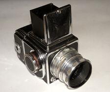 RARE SALUT USSR Medium Format camera HASSELBLAD COPY Industar-22 lens 2.8/80