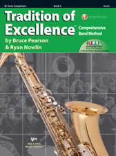 Tradition Of Excellence-Tenor Saxophone Music Book/Internet Level 3-Sax-New Sale