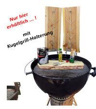 """Flammlachsbrett / Räucherbrett """"SuperSet"""" rustikal für KUGELGRILL`s"""