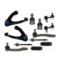 12 Pc Suspension Kit for Honda CR-V 1997-2001 Control Arms Tie Rod Ends Sway Bar