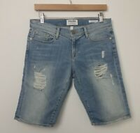 Frame Womens Denim Shorts Cut Off Distressed Destroyed Size 26 NWOT