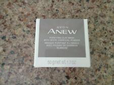 Avon - Anew - Purifying Clay Mask - White Charcoal Powder - 1.7 oz. - New