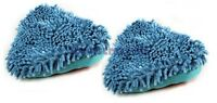 To fit 2x High Quality Replacement Hyundai Coral Steam Mop Cleaning Pads Covers