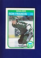Ron Francis RC HOF 1982-83 O-PEE-CHEE OPC Hockey #123 (NM) Hartford Whalers