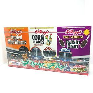 1997 EARNHARDT GORDON LABONTE JARRETT Kellogg's Cereal Box Set - Sealed (X)