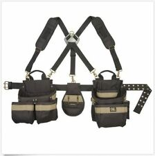 Electrician Tool Belt Construction Toughbuilt Leather For Carpenters Harness Bag
