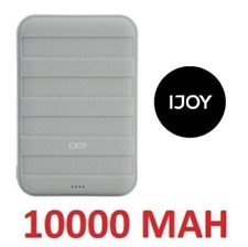IJOY SPY PORTABLE CHARGER 10000 MAH TWO USB PORTS BUILT IN TORCH CHARGER GREY
