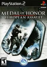 Medal Of Honor European Assault PS2 Playstation 2 Complete Game