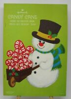 Vintage Hallmark Candy Cane Home Decorations Book Press Out Designs HTF