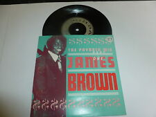 "JAMES BROWN - The Payback Mix Part 1 - Scarce 1986 deleted UK 2-track 7"" Vintl"