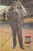 Claremore, OKLAHOMA - Hotel Will Rogers - ADVERTISING - 1932 - signature, prop