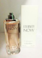 Eternity Now By Calvin Klein Tstr 3.4/3.3 oz.Edp Spray For Women New In Tstr Box