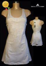 ADIDAS Stella Mccartney Tennis Dress UK10 EU36 US(S) RRP;£110 White *BNWT*