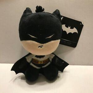 """NEW DC Comics Batman 4"""" Plush Backpack Hanger"""