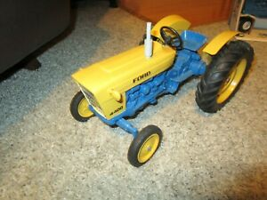 Ford New Holland Farm Toy Tractor Industrial 4400 Repaint