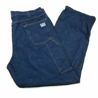 Tyndale Flame Resistant Denim Jeans Mens 40X32 Blue Straight Leg Regular Fit