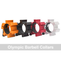 "2"" Aluminum Barbell Collars Olympic Lock Collars Weight Lifting Fitness Training"