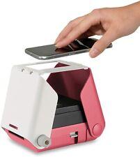 Tomy KiiPix Fotodrucker Smartphone kompatibler Sofort-Fotodrucker Pink Ohne OVP