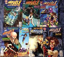 Impulse #5-9, 13-14, 16-27 -- Mark Waid Humberto Ramos Flash *19 Issue LOT*
