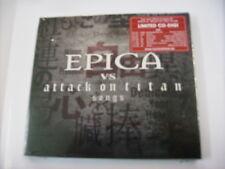 EPICA - EPICA VS ATTACK ON TITAN SONGS EP - CD DIGIPACK LTD. ED. NEW SEALED 2018