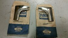 NOS FORD TOP WINDSHIELD MOULDS RH & LH XK XL XM XP FUTURA COUPE