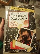 """Hardcore Diaries"" By Mick Foley Signed Book  WWE WWF"
