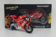 MINICHAMPS VALENTINO ROSSI 1/12 HONDA VTR1000 CABIN 8H SUZUKA 2001 L.E 4999 PCS