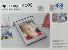 HP Scanjet 4600 Flachbett-Durchsichtscanner - in OVP, kaum gebraucht