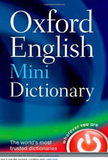 Oxford School Up To Date Dictionary English Pocket Size Paperback Edition 2013