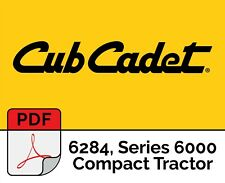 Cub Cadet 6284 Series 6000 Compact Tractor Parts Manual