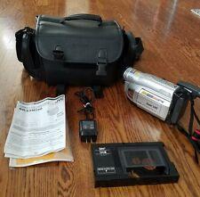 JVC Compact VHS Camcorder GR-SXM250U 600 x Digital zoom