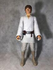 "Large 18"" Luke Skywalker Action Figure Doll Star Wars White Clothes"