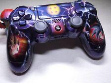 Manette PS4 Customisé à l'aérographe !!! Dualshock 4 Sixaxis DBZ !