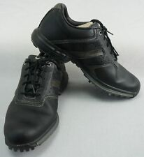 watch 1a941 60eac NIKE AIR Mens Size 10 Tour Saddle II Black Leather Golf Shoes