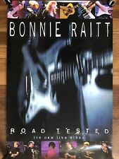 Bonnie Raitt Road Tested Rare Double-sided Promo Poster '95
