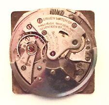 Gruen Caliber 475 Automatic Bumper Watch Movement~Good Balance