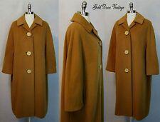 Exquisite Vintage 60s 100% VICUNA Ladies Swing Coat M/L/XL Julius Garfinckel