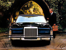 1979 Lincoln Continental Collectors Series, BLUE, Refrigerator Magnet, 40 MIL