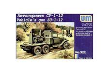 UNIMODELS 322 1/72 Vehicle's gun SU-1-12