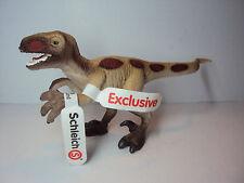 Velociraptor Dinosaurier Schleich limitierte Auflage Sonderbemalung - Neu