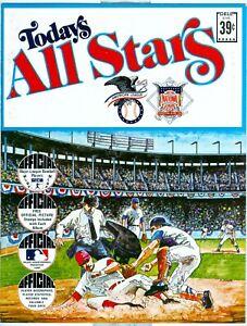 1971 MLB BASEBALL TODAY'S ALL STARS Willie Mays Hank Aaron Pete Rose Magazine
