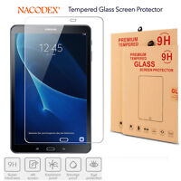 Nacodex For Samsung Galaxy Tab A 10.1 T580 2016 Tempered Glass Screen Protector
