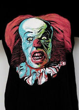 Pennywise the Clown Stephen KIng's IT Black Bloody Horror T-Shirt Women's L 8-10