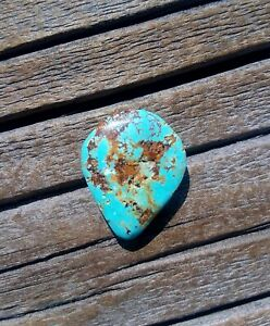 Royston Turquoise! 11.20ct Blue Stone! Natural Untreated Specimen! Cool Pattern!