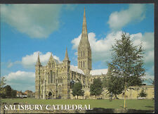 Wiltshire Postcard - Salisbury Cathedral, The West Front  B2611