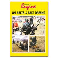 Stationary Engine Book - On Belts & Belt Driving