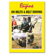 6 Inch Balata Flat Drive Belting 4ply 5.5mm Thick Stationary Engine Drive Belt