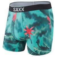 SAXX Volt Boxer Brief  Athletic   Underwear - Green - Mens