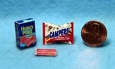 Dollhouse Miniature Replica Package of Hershey Chocolate Candy Bars ~ G167