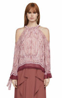 $  $198 New Women's Bcbg max Azria SESSILEE GTD1Z217-AGE  Pink Combo SZ  L =9